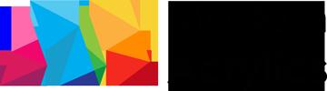 modern acrylic high gloss logo